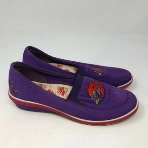 Grasshoppers by keds red hat society shoes sz 7